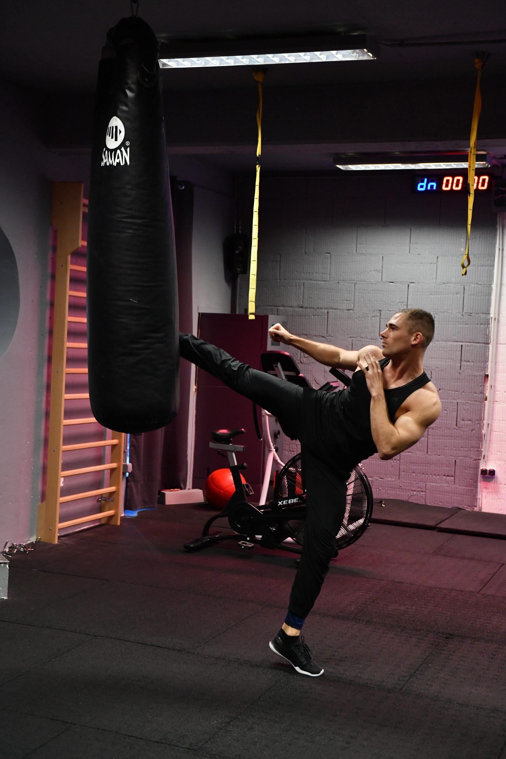 Kick box edzés