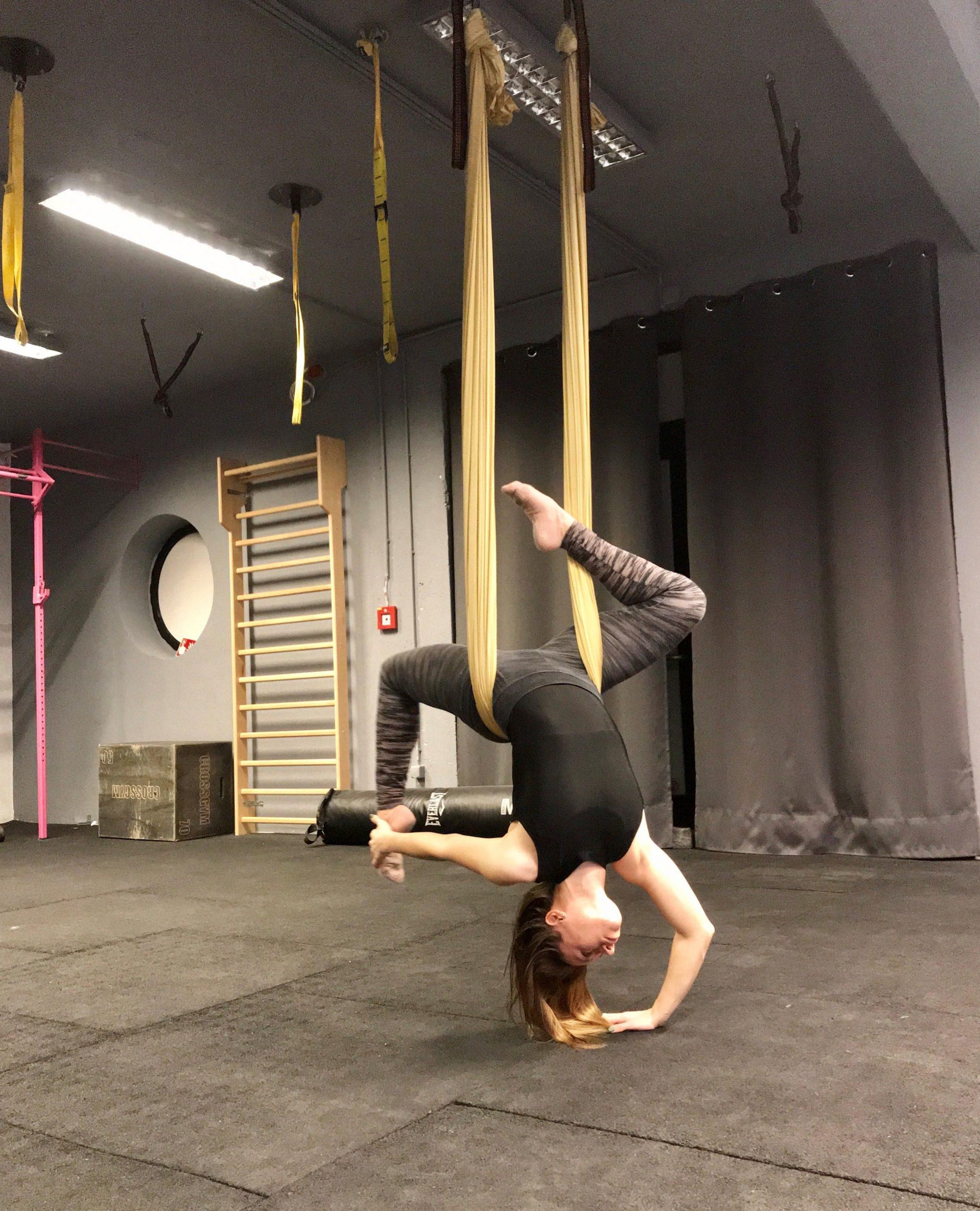 Aerial jóga